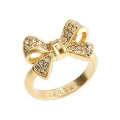 J.Crew Bow ring