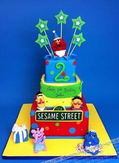 Elmo cake by Design Cakes.