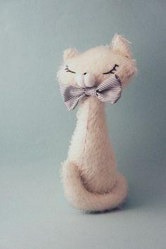 ·lelelerele handmade·: Tutorial para hacer un gatito de peluche