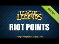 Riot Point Gratuit - Comment Avoir des Riot Points Gratuit sur League of Legends - Octobre 2013