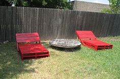Garden furniture can be very expensive and here's a simple idea on how… :: Hometalk