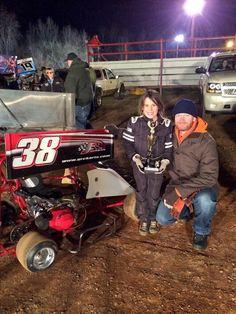 Dale Jr & niece Kennedy