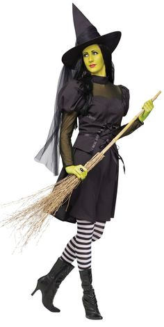 Miss Wicked Witch #Halloween #witch costume