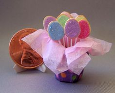Easter sugar cookie bouquet