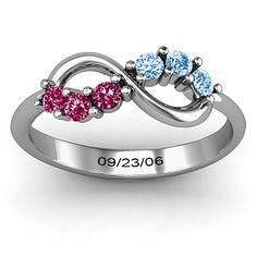 Split Infinity Ring | Jewlr