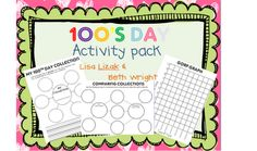 100 Days Activity Packet