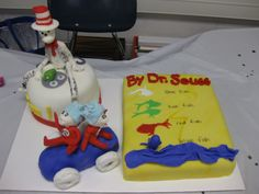 Dr. Seuss-themed cakes, yum!