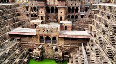 The Famous Chand Baori Stepwell inIndia