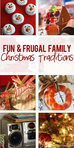 Fun & Frugal Family Christmas Traditions | How Does She...