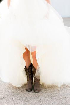 farm wedding, cowgirl boots, wedding dressses, cowboy boots, wedding pics, country wedding dresses, country weddings, southern girls, the dress