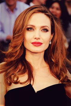 Angelina Jolie at the Oscars, 2012.