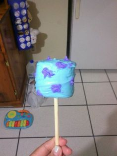 My sulley Marshmallow pop's!!! :)
