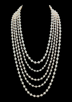 Chanel Pearl Necklace - Worn by Keira Knightley as 'Anna Karenina'