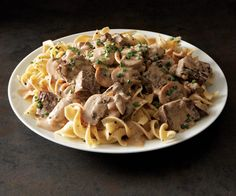 Classic Beef Stroganoff recipe..I grew up eating beef stroganoff and this tastes just like it, very good,just use GOOD quality steak...5 out of 5