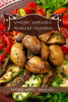 Weight Watches Roasted Vegtables