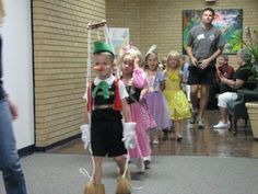 Just Another Day.....: Kindergarten Fairy Tale Day Parade