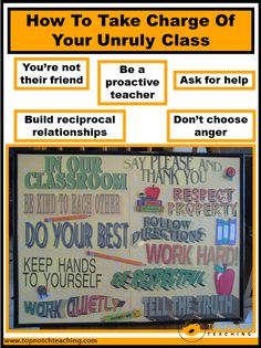 Here you'll find tips to prevent behavior management problems and techniques to respond to inappropriate behaviors. http://topnotchteaching.com/classroom-management-organisation/take-charge-of-unruly-class/