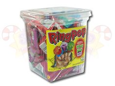 Ring pops would be a really fun addition to a ready to POP! baby shower!