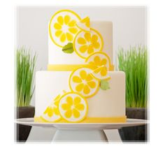 Summer Lemon Slices Citrus Cake Picture
