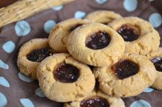 """Peanut butter and jelly cookies - the perfect match for """"Friendsgiving"""" #StreamTeam"""