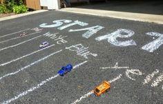 Kids Race Car Birthday Party Ideas - ChocolateCakeMoments.com #racecar #racecarbirthday #kidsparties