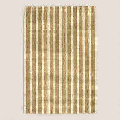 WorldMarket.com: Stripe Jute Pile Rug, Beige/Tan
