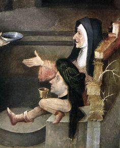 La Tentation de Saint-Antoine - Jérôme Bosch (détail)