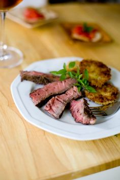 ... pan fry steak tried it this method gave us a perfect medium done steak