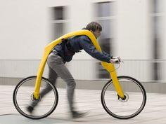 a crazy new bike with no pedals (http://fliz-concept.blogspot.com/)