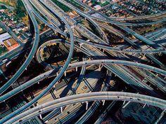 the 110 & the 105 interchange
