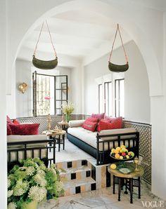 House Crush Blog- Bruno Frisoni's Moroccan retreat