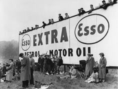 Motor racing crowd at Crystal Palace 1957 | Museum of London