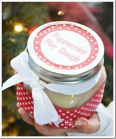 peppermint play dough wm