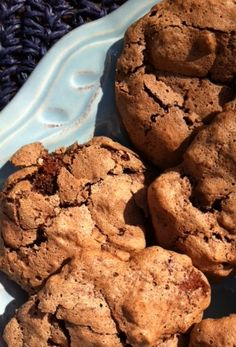 Eat • Write: Moist, chewy, flourless cookies are all about the chocolate. As a bonus, they're gluten-free!