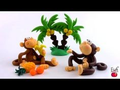 monkey tutori, clay monkey, tutorial, polym clay, polymer clay