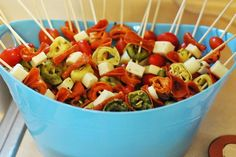Hostess with the Mostess® - great idea for party food