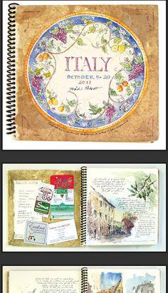 Robin Poteet - Art travel journals