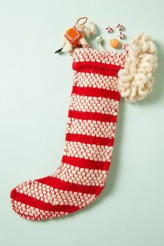 Stocking with Stripes.