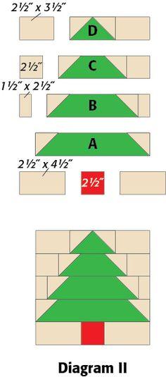 Tree: FREE quilt block pattern download