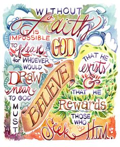 Without faith... <3