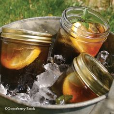 Gooseberry Patch Recipes: Sun Tea from Good for You! Cookbook
