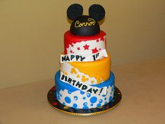 Mickey cake.