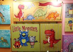 adorable kid's wall art! #hpmkt