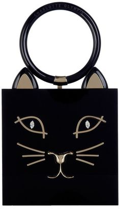 Kitty Clutch by Charlotte Olympia perfect for Halloween han- Lyst