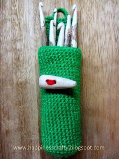 Crochet Hook Case ~ Free Pattern