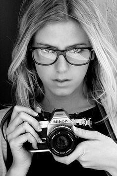 Nikon girl