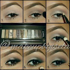 urban decay naked 2 palette... And these are perfect eyebrows