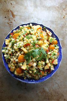 Peach and Corn Salsa by Heather Christo, via Flickr