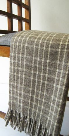 wool blanket,