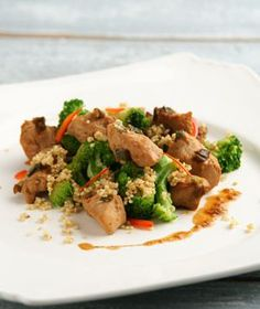 Oriental Chicken - A Delicious and healthy family friendly dish!